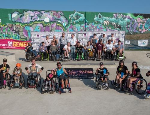 RSC-Athleten waren erfolgreich – Deutsche Meister im WCMX (Rollstuhlskaten) in Hamburg ausgefahren