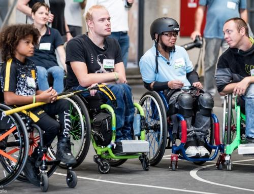 Rollstuhlsport in den AbenteuerHallenKALK
